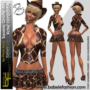 Babele Fashion Savana Giraffe Skin