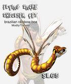 AB Flying Snake Shoulder Pet Rainbow Boa