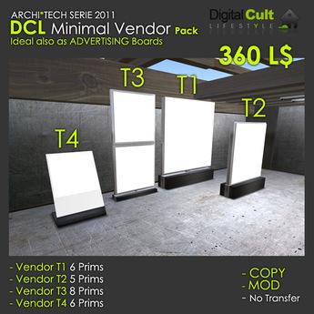 *** DCL Minimal Vendor Pack