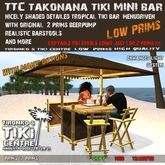 TTC TakoNaNa-TiKi-MiNi BAR SET