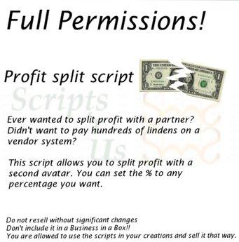 *NZ`s Profit Split Script*