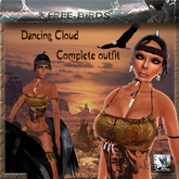 ~~FREE BIRDS~~Dancing Cloud~~ Indian outfit