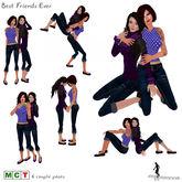 *~*HopScotch*~* Best Friends Ever Couple Poses