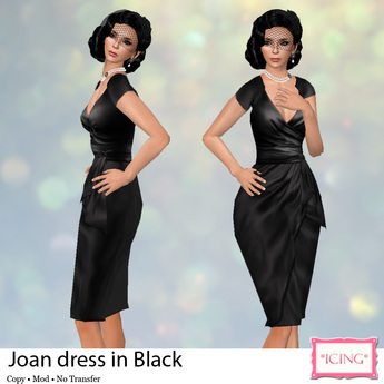*ICING* Joan - Black