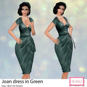*ICING* Joan - Green