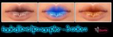 .:Glamorize:. Faded Love Lips Sampler Dollarbie (3 Colors)