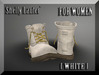 ::: Shelly Laufer Work Boots [White] For Women :::