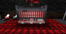 Gothic dreams baby  crib