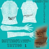****CandyTex**** Butterfly-tattoo-template1