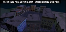 Ultra low prim city in a box