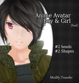 Anime/Manga Both Avatar Set BOY &Girl .:BND:. Special Offert