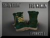 ::: Shelly Laufer Work Boots [Forest] For Women :::