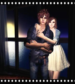 .::Y&R::. Girl's hug couple pose(boxed)