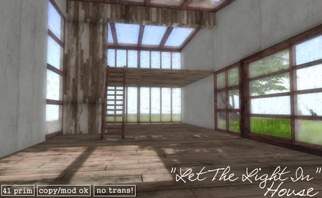 """""""Let The Light In"""" House"""