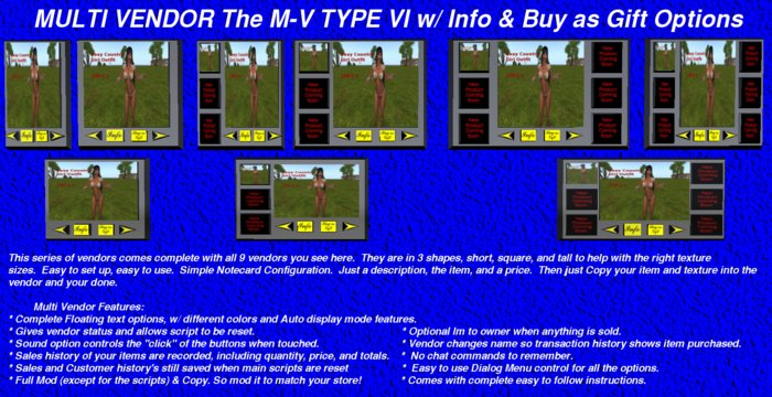 M-V TYPE VI w/ Info & Buy as Gift Options