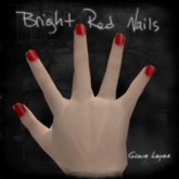 !TLB - Bright Red Nails