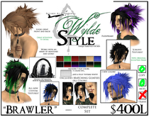 - Brawler - A Wylde Style by Khyle Sion at ~Refined Wild~
