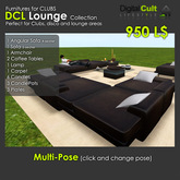 *** DCL lounge furnitures collection - High quality furnitures for clubs and entertainment areas