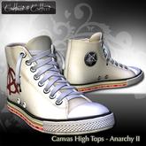 Cattiva e Cattivo Canvas High Tops - Anarchy II
