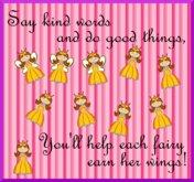 Mudlarks Fairy Princess Reward Chart