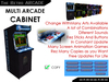 Multi Arcade Cabinet