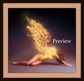 Dollarbie Burning Angel - Sensual Erotic Art