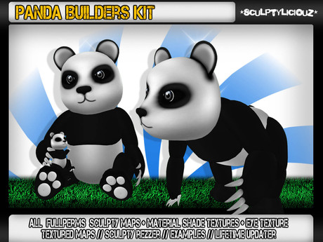 Panda Builders Kit ✪49L$✪