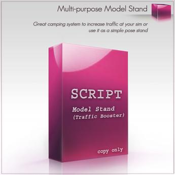 Multi Purpose Model Pose Stand Script