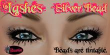 .:Glamorize:. Lashes - Silver Bead (Mod/Copy) Tintable