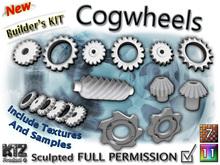 Sculpted Cogwheels (Builder Kit) FULL PERMISSION !