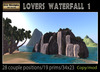 PROMO 250 OFF !Bee Designs Lovers waterfall - multianimated waterfall