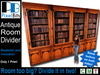Large Antique Bookshelf / Room Divider