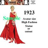 1923 Avatar size Fashion cutout