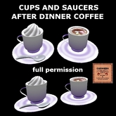 cups and saucers with after dinner coffee (full-perm)