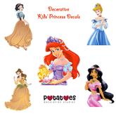 Potatoes Decoration - Kids Princess Decals