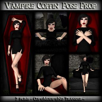 *MP* Vampire Coffin (Pose Prop)