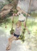 HPMD* Branch Log Swing - brown branch