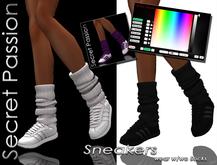 (SP) Sneakers w Socks