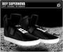 DEF! Unisex Sneakers / Supernova / Black (White Laces)