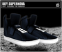 DEF! Unisex Sneakers / Supernova / Dark Blue