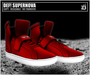 DEF! Unisex Sneakers / Supernova / Red