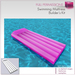 Full Perm Sculpted Swimming Mattress - Inflatable Air Mattress Builder's Kit Set