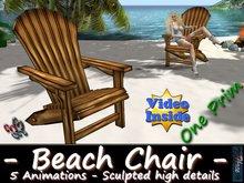 333 - Beach Chair - Sculpted - Animated