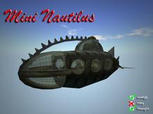 Mini Nautilus (steampunk submarine)