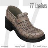 77 Loafers - Vintage Beige