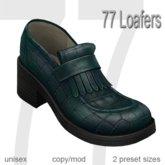77 Loafers - Vintage Blue