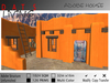 Adobe House, Southwestern Home, Small New Mexico style Home in 7 Colors * 16x32 126 Prims Fits a 1024 Parcel *