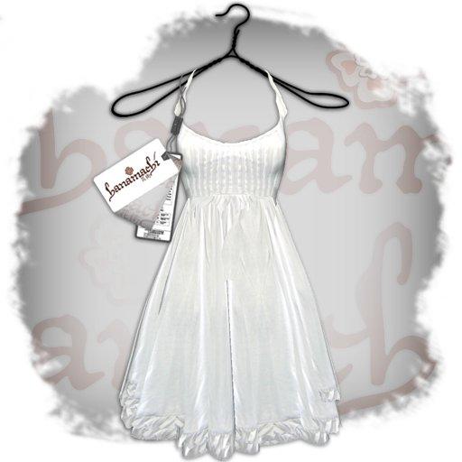 ~hanamachi~ white cami dress