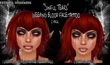 "::ED::""Sinful tears"" 2 pack"