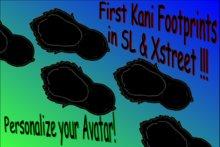 Kani Footprint Black